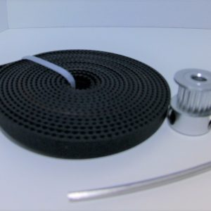 GT2 Timing belt kit with pulleys