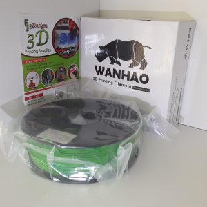 Wanhao PLA Green 1.75mm 1kg