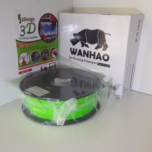 Wanhao PLA Light Green 1.75mm 1kg