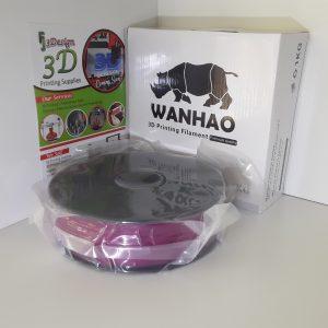 Wanhao PLA Translucent Purple 1.75mm 1kg