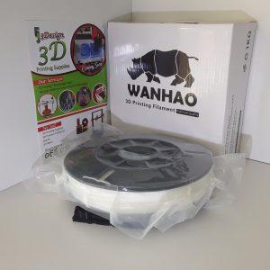 Wanhao TPU White 1.75mm 0.5kg