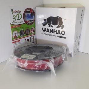 Wanhao TPU Red 1.75mm 0.5kg