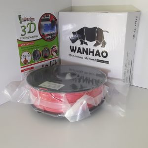Wanhao PLA Silk Red 1.75mm 1kg