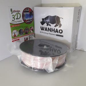 Wanhao PLA Silk Rose Gold 1.75mm 1kg