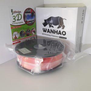 Wanhao PLA Silk Orange 1.75mm 1kg
