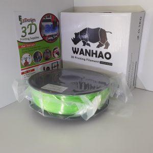 Wanhao PLA Silk Light Green 1.75mm 1kg