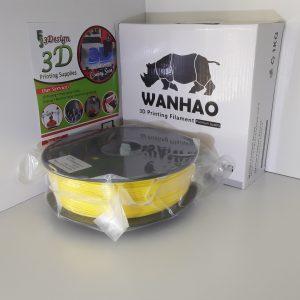 Wanhao PLA Silk Yellow 1.75mm 1kg