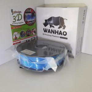 Wanhao PLA Silk Blue 1.75mm 1kg