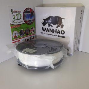 Wanhao PLA Silk White 1.75mm 1kg