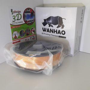 Wanhao PLA Silk Gold 1.75mm 1kg