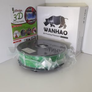 Wanhao PLA+ Green 1.75mm 1kg