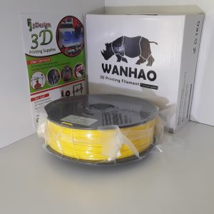 Wanhao PLA+ Yellow 1.75mm 1kg