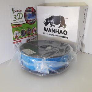 Wanhao PLA+ Blue 1.75mm 1kg