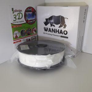 Wanhau PLA+ White 1.75mm 1kg