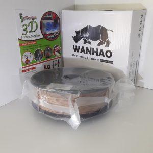 Wanhao PLA Wood 1.75mm 1kg